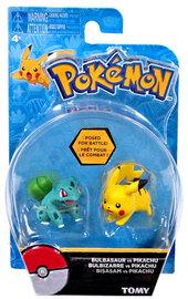 Pokémon: Action Pose Pikachu & Bulbasaur - Figure 2-Pack
