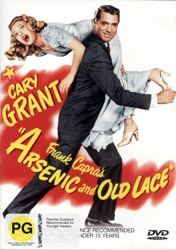 Arsenic and Old Lace on DVD image