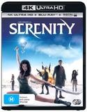 Serenity on UHD Blu-ray