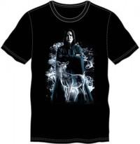 Harry Potter: Snape & Doe - Crew Neck T-Shirt (Small)