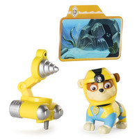 Paw Patrol: Sea Patrol Deluxe Figure - Rubble