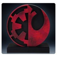 Star Wars: Bookends Imperial/Rebel Logo - 15 cm image