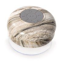 IS GIFT Wireless Shower Speaker-Natural Prints (Assorted)