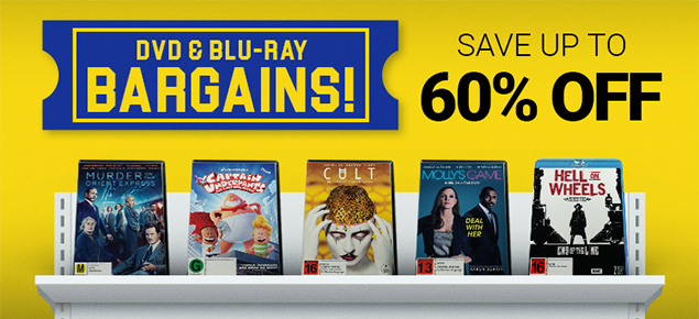 DVD & Blu-ray Bargains! Save up to 60% off!