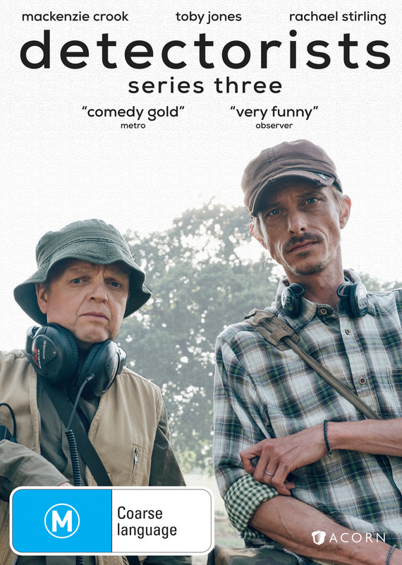 Detectorists - The Complete Third Series on DVD