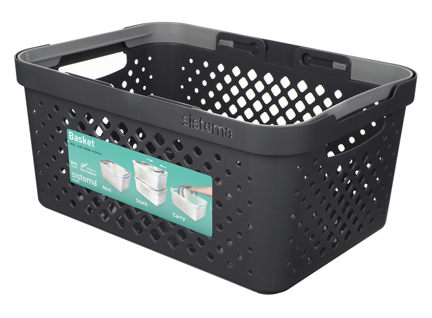 Sistema Home Basket - Charcoal (18.5L)