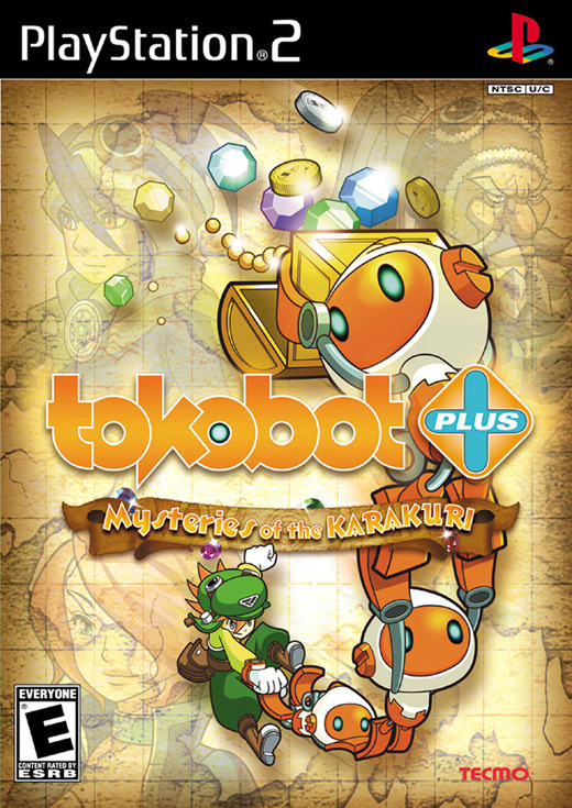 Tokobot Plus: Mysteries of the Karakuri for PlayStation 2
