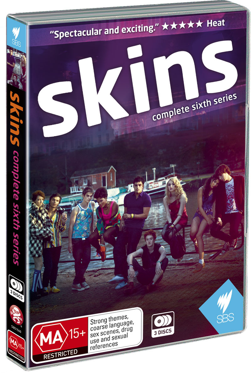 Skins - Series 6 on DVD image