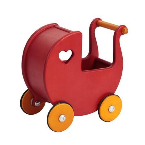 Moover Mini Doll's Pram - Red