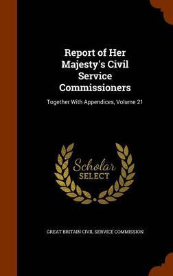 Report of Her Majesty's Civil Service Commissioners image
