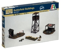 Italeri: 1:72 Battlefield Buildings - Diorama Kit
