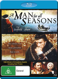 A Man For All Seasons on Blu-ray