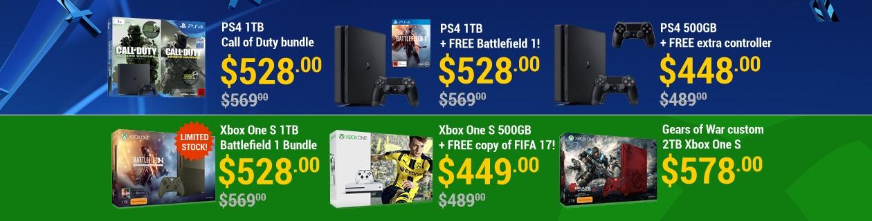 Console deals