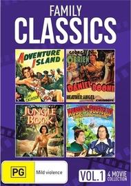Family Classics - Volume 1 (2 Disc Set) on DVD