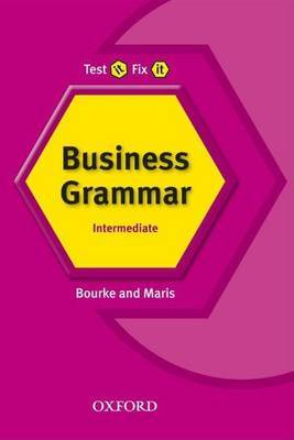 Test It, Fix It: Business Grammar by Kenna Bourke image