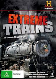 Extreme Trains - Season 1 (8 Disc Set) on DVD
