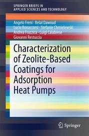 Characterization of Zeolite-Based Coatings for Adsorption Heat Pumps by Angelo Freni