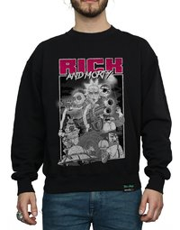 Rick and Morty: Guns Sweatshirt (XX-Large)