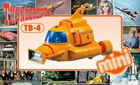 Aoshima: Thunderbird TB-4 - Mini Model Kit