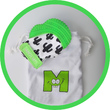 Munch Mitt - Green Cactus