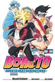 Boruto, Vol. 3 by Masashi Kishimoto