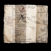 The Hobbit: Thorin's Map - 1:1 Scale Prop Replica