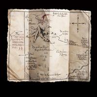 The Hobbit: Thorin's Map - 1:1 Scale Prop Replica