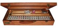 Dal Rossi Italy - Mahjong Set Wood Case