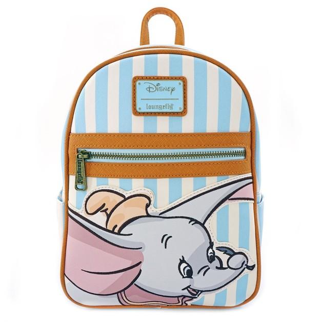 Loungefly: Dumbo - Dumbo w/Stripes Mini Backpack