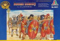 Italeri Roman Infantry (1st - 2nd Century B.C) 1:72 Model Kit