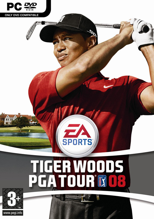 Tiger Woods PGA Tour 08 for PC Games