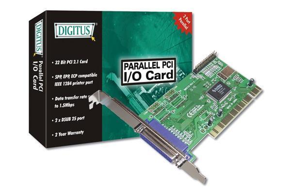 Digitus PCI 2 Port EPP Parallel Card