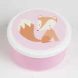 Round Woodland Friends Fox Box (Small)