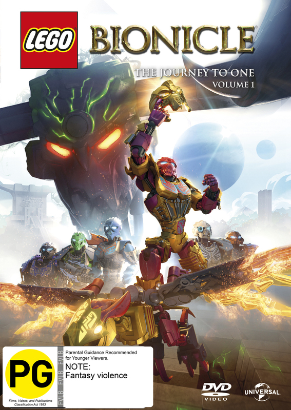 Lego Bionicle: The Journey To One - Season 1 Vol.1 on DVD