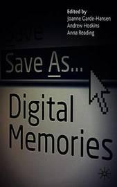 Save As... Digital Memories image