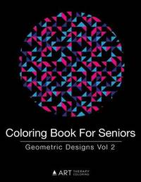 Coloring Book for Seniors by Art Therapy Coloring image