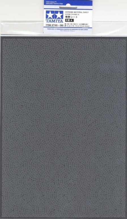 Tamiya: Diorama Material Sheet - Stone Paving A