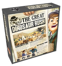 The Great Dinosaur Rush - Board Game