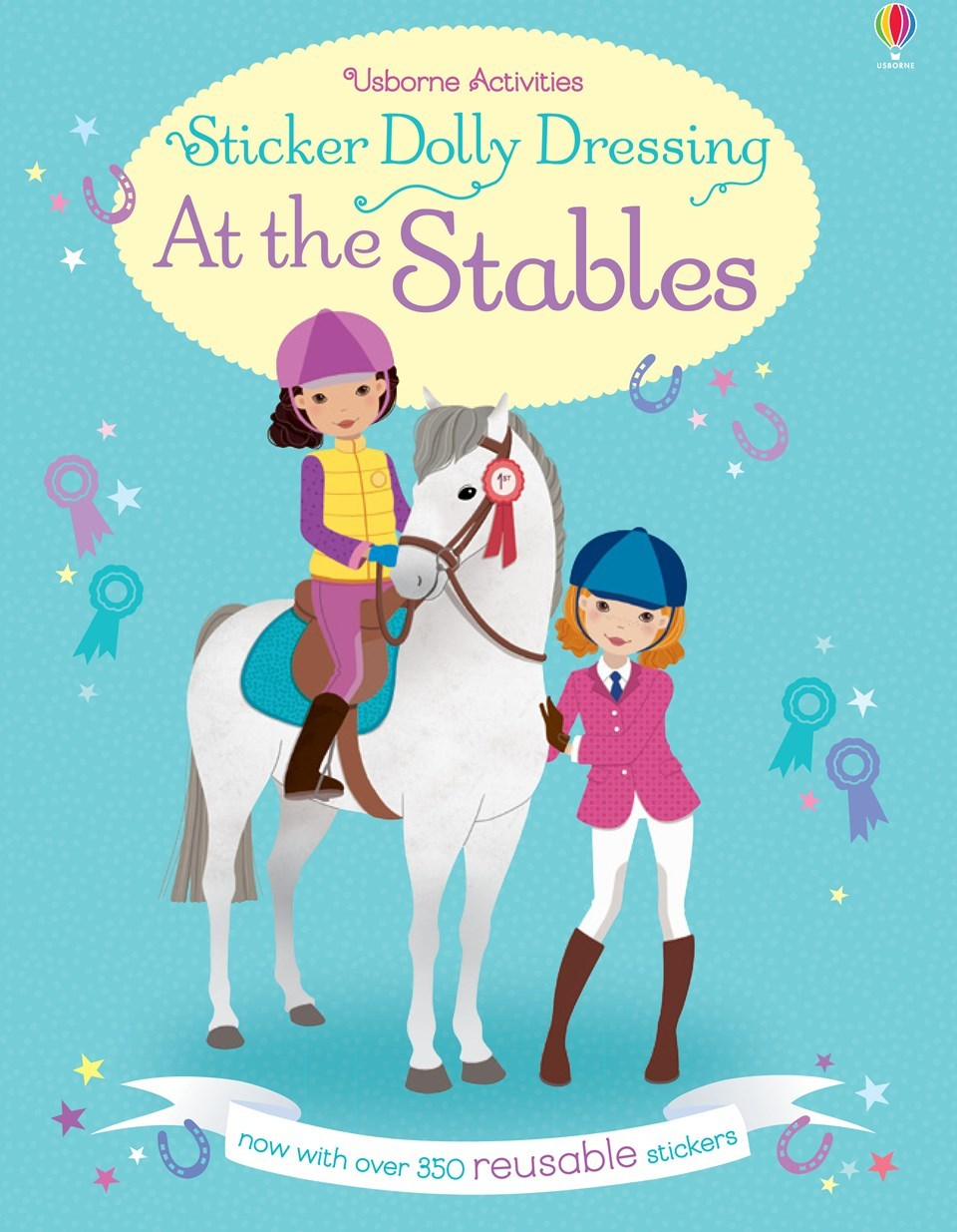 Sticker Dolly Dressing At the Stables by Lucy Bowman image