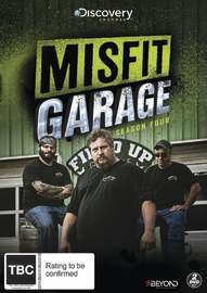 Misfit Garage - Season Four on DVD