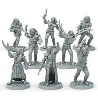 Star Trek Adventures Miniatures: Klingon Set