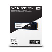 256GB WD Black PCIE SSD - M.2 NVMe