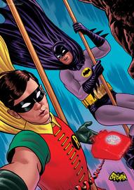 Batman: Classic TV Series (Selfie) MightyPrint Wall Art