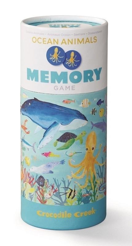Crocodile Creek: Memory Game - Ocean Animals