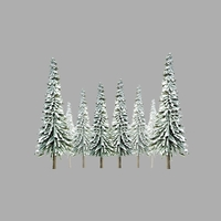JTT: N Scale - Scenic Snow Spruce (36 Pack)