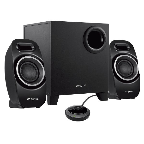Creative T3250W Wireless Bluetooth Speaker 2.1 Black image