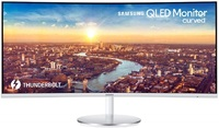 "34"" Samsung ThunderBolt 3 Curved Ultrawide Monitor"