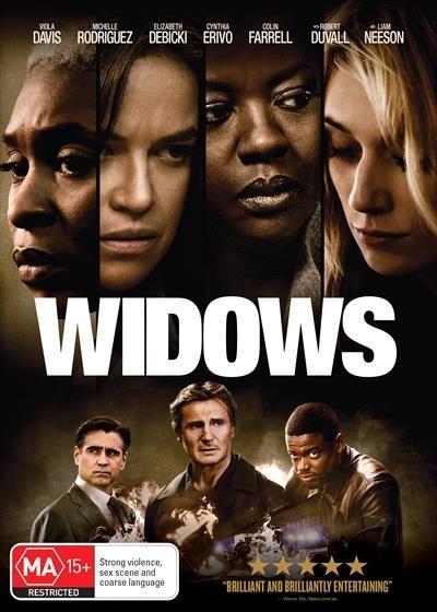 Widows on DVD image