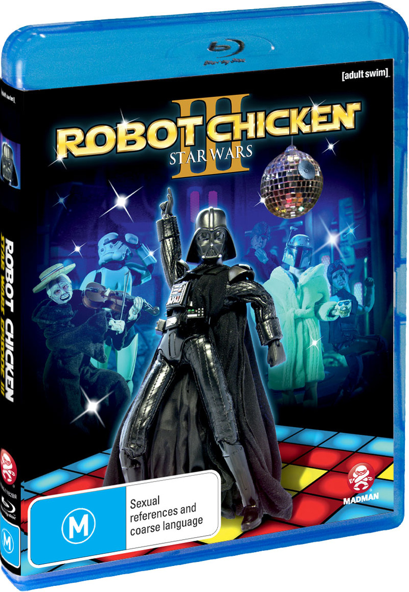 Robot Chicken: Star Wars Special - Episode 3 on Blu-ray image