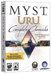 Uru: Ages Beyond Myst - Complete Chronicles (jewel case packaging) for PC Games